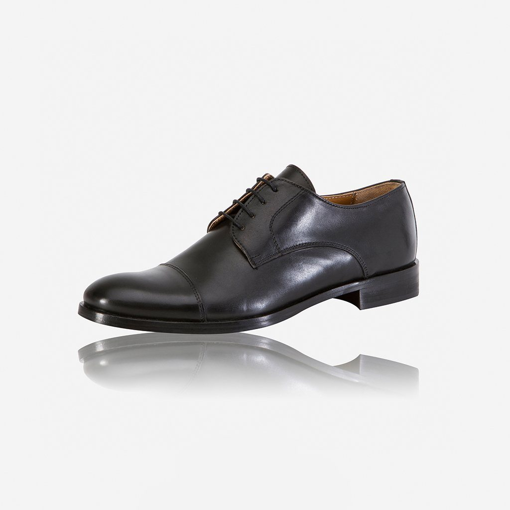Milan Genuine Leather Shoes, Black - Jekyll and Hide SA