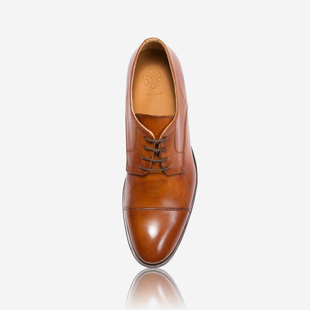 Milan Genuine Leather Shoes, Tan
