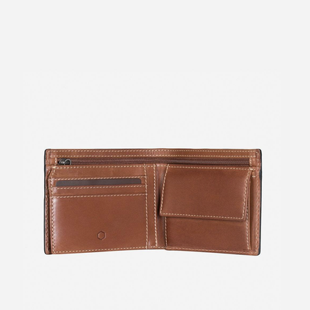 Large Billfold Wallet With Coin, Clay - Jekyll and Hide SA