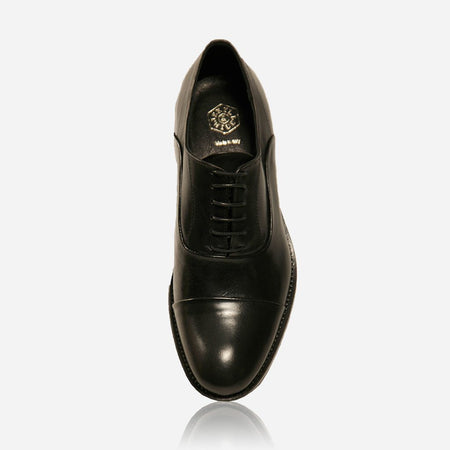 Genuine Oxford Leather Shoes, Black
