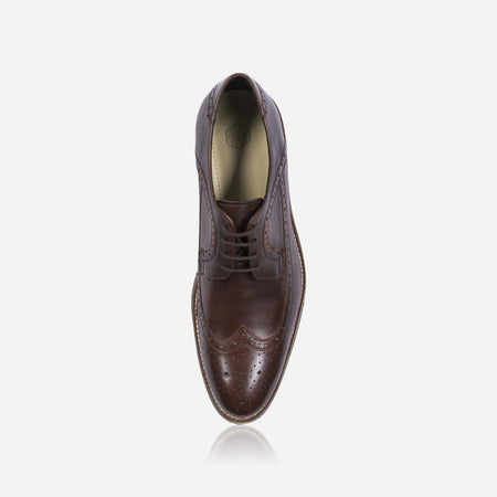 Artist Brogue Shoes, Brown - Jekyll and Hide SA