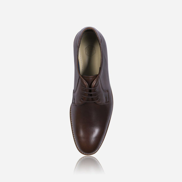 Leather Brogues - Antic Shoes, Brown