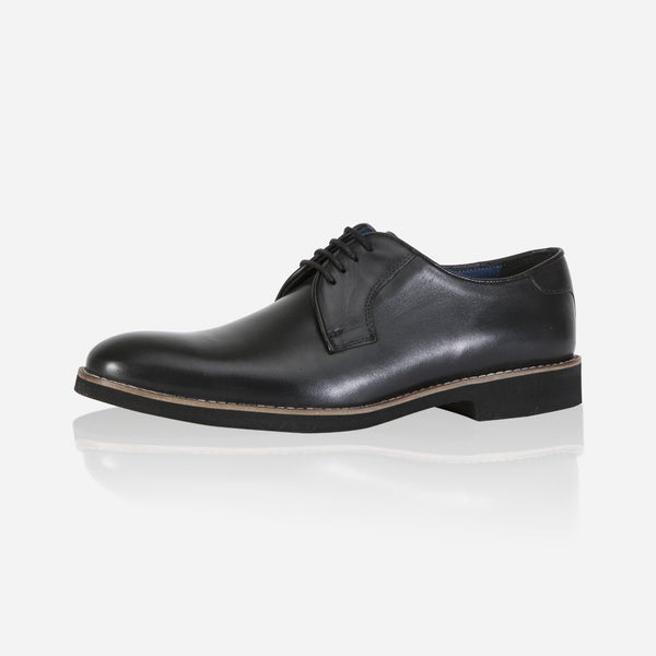 Leather Brogues - Antic Shoes, Black