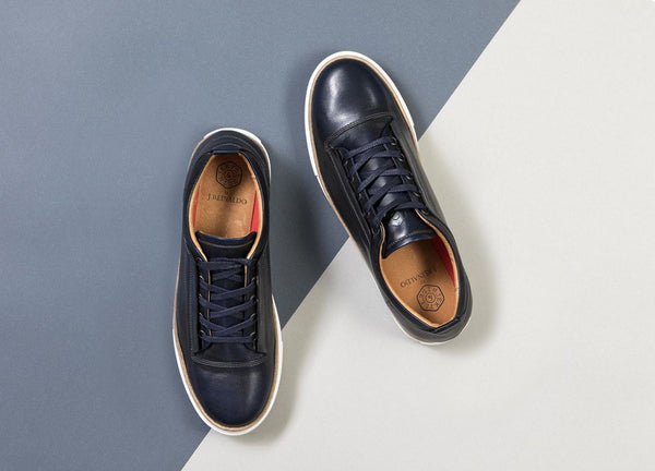 Lisbon Leather Sneakers