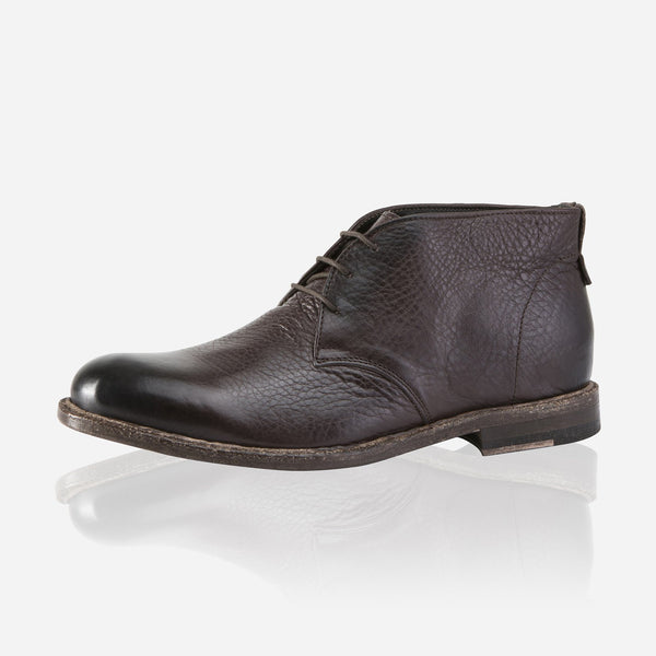 Napoli Leather High Tops, Brown - Jekyll and Hide SA