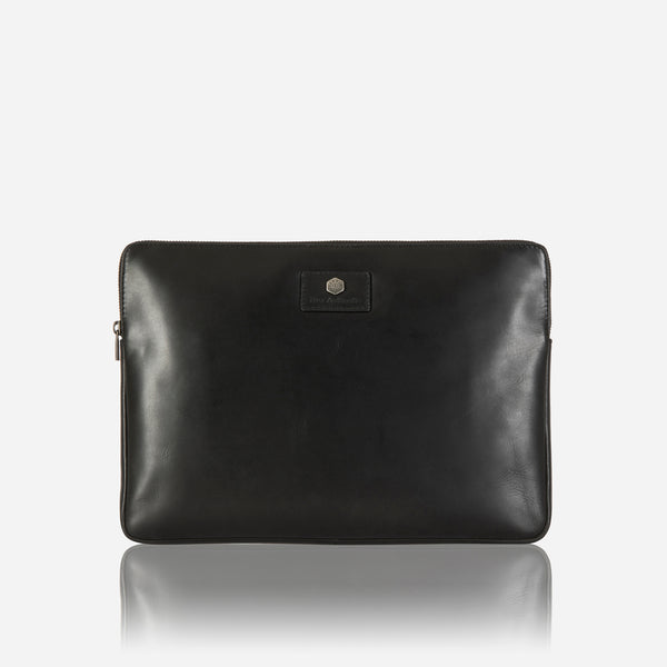 Zip Around Laptop Folder, Black - Jekyll and Hide SA