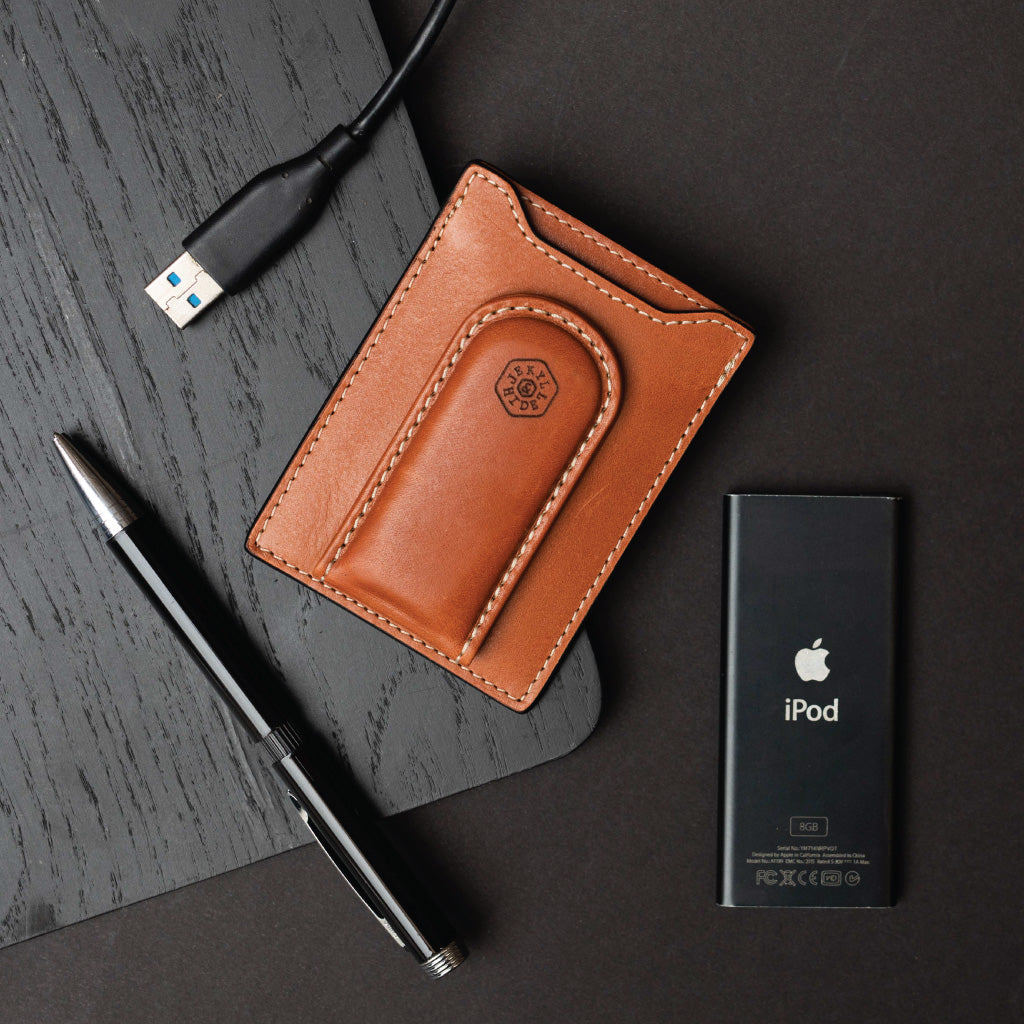Money Clip Wallet, Tan - Jekyll and Hide SA