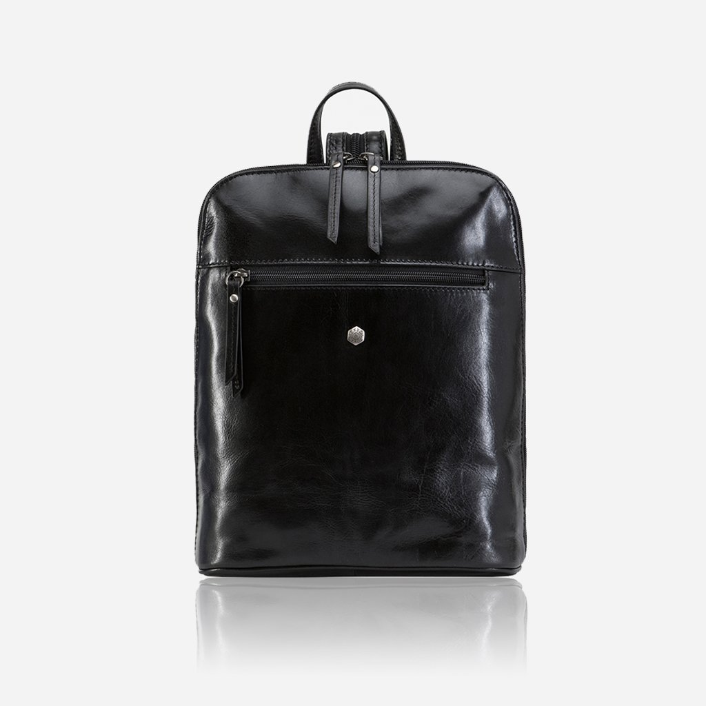 Ladies Modern Backpack, Black