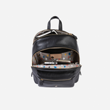 Classic Capri Leather Backpack, Black - Jekyll and Hide SA