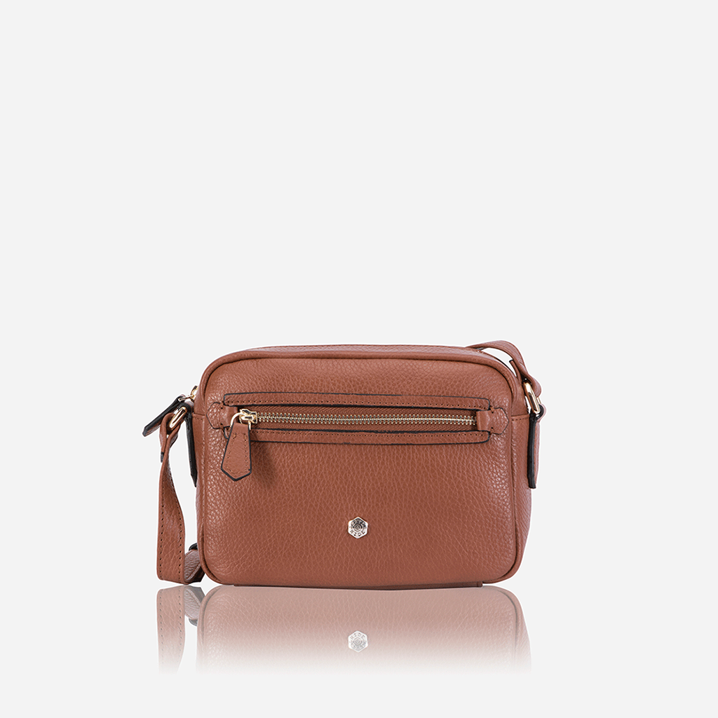 Classic Capri Ladies Crossbody, Nut - Jekyll and Hide SA