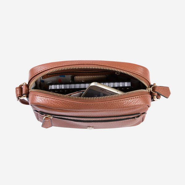 Small Crossbody, Nut - Jekyll and Hide SA