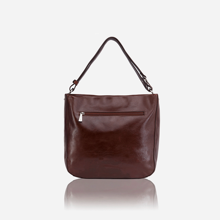 Chic Ladies Crossbody Bag, Burgundy - Jekyll and Hide SA