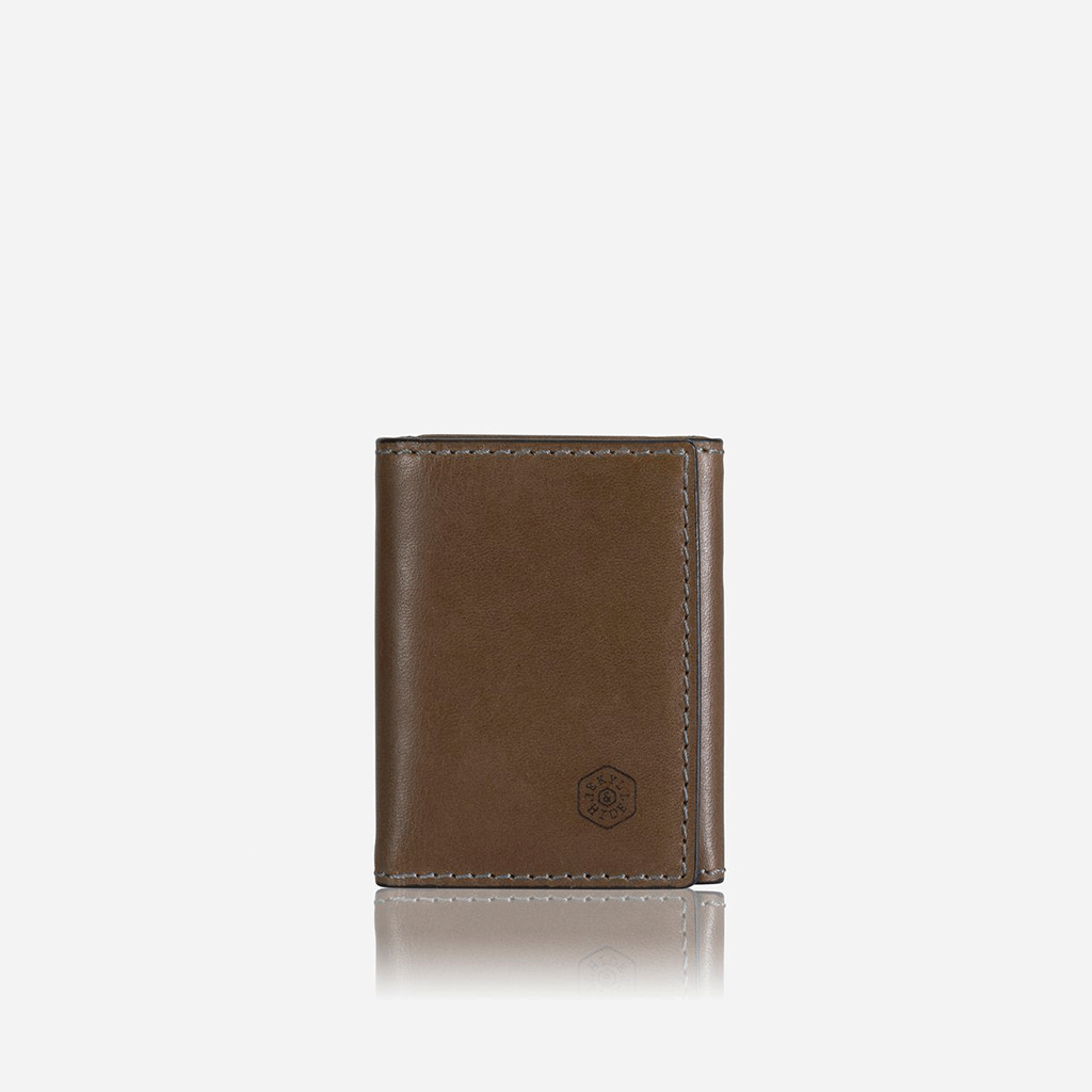 Tri Fold Card Holder, Olive - Jekyll and Hide SA