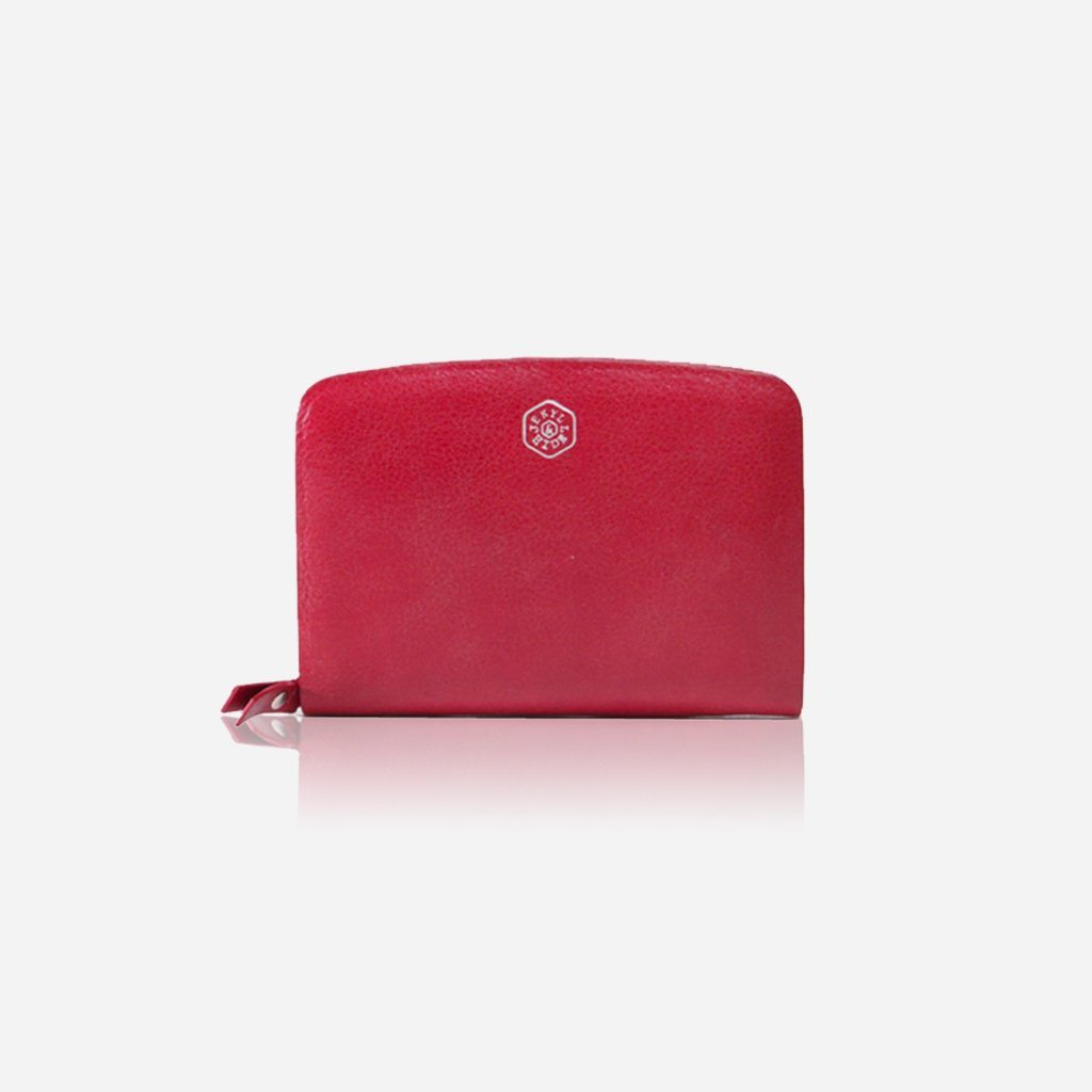 Small & Compact Ladies Purse, Red