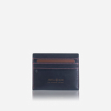 Slim Card Holder, Blue - Jekyll and Hide SA
