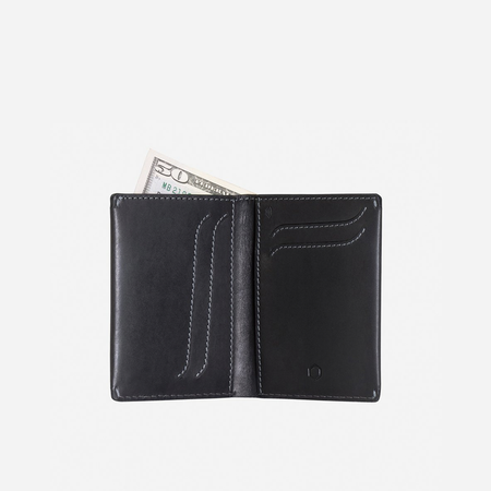 Large Billfold Wallet, Black - Jekyll and Hide SA