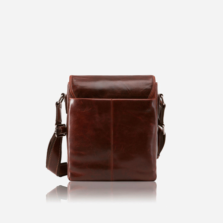Tablet Crossbody Bag, Tobacco - Jekyll and Hide SA