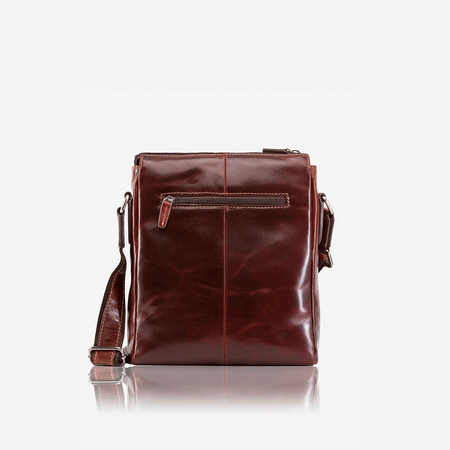 Crossbody Organiser Bag, Tobacco - Jekyll and Hide SA