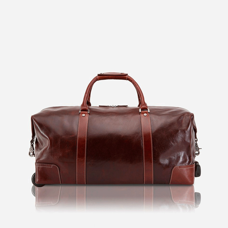Cabin Wheeled Holdall 55cm, Tobacco - Jekyll and Hide SA