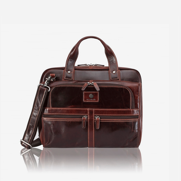 Large Multi Compartment Briefcase - Jekyll and Hide SA