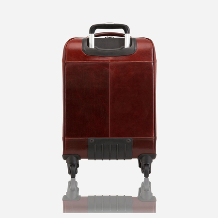 4 Wheel Cabin Trolley 50cm, Tobacco - Jekyll and Hide SA