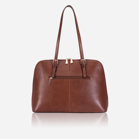 Ladies Business Handbag, Brown - Jekyll and Hide SA