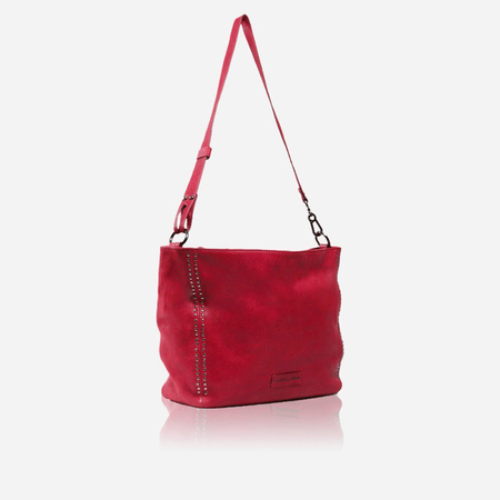 Ladies Shoulder Handbag, Red - Jekyll and Hide SA