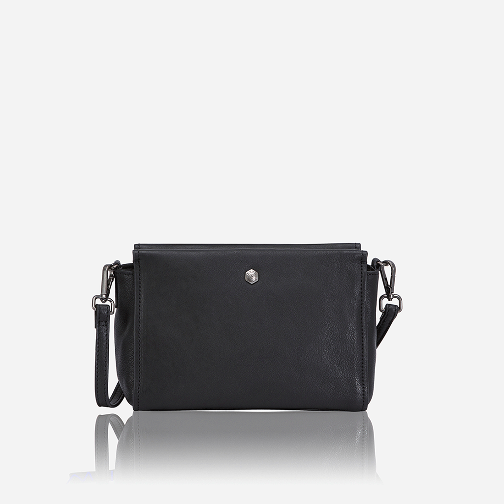 Petite & Versatile Crossbody Bag, Black - Jekyll and Hide SA