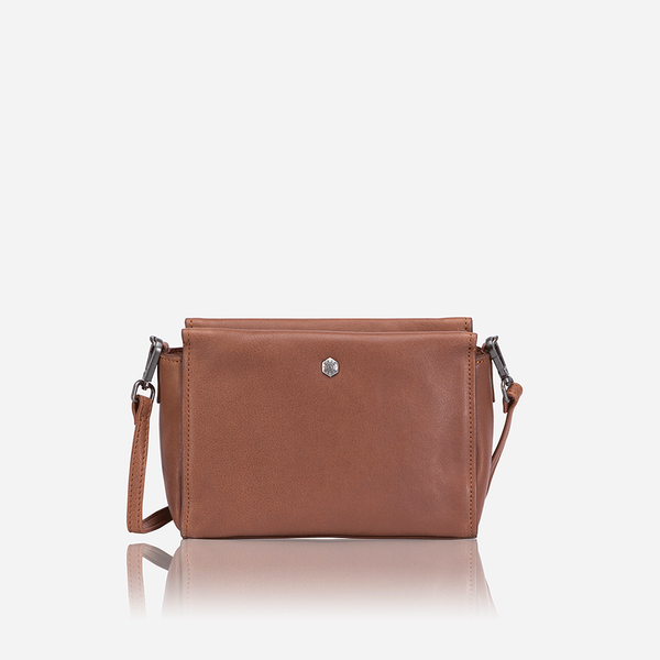 All Ladies Products - Petite & Versatile Crossbody Bag, Tan