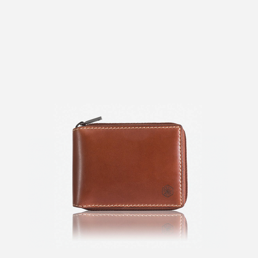 Large Zip Around Wallet With Coin, Clay - Jekyll and Hide SA