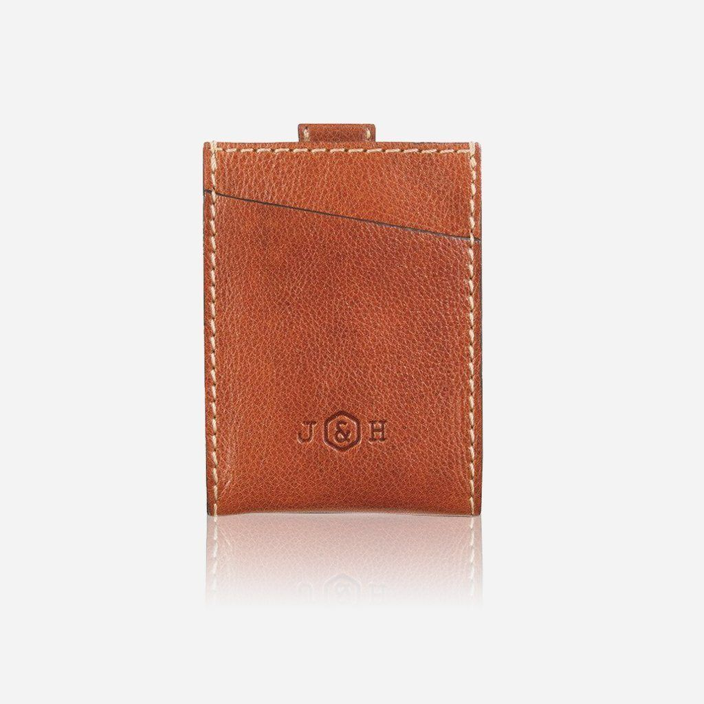 Slim Card Slide Wallet, Tan - Jekyll and Hide SA