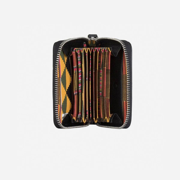 Ndebele Multi Card Compact Zip Around