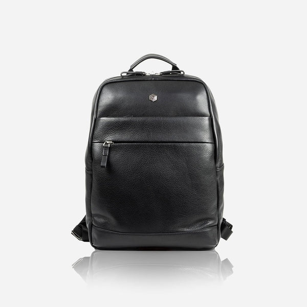 Compact Backpack 38cm, Matt Black - Jekyll and Hide SA