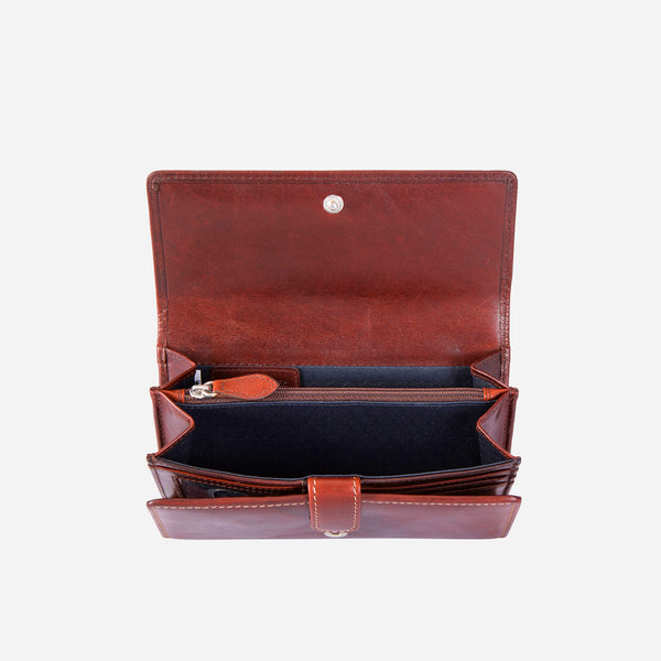 Large Leather Purse, Coffee - Jekyll and Hide SA