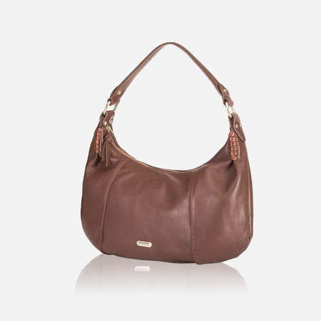 Stylish Leather Handbag, Burgundy - Jekyll and Hide SA