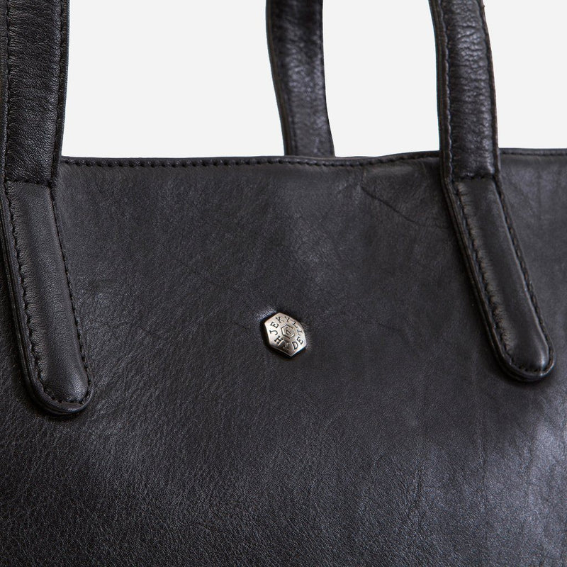 Large Laptop Shopper, Black - Jekyll and Hide SA