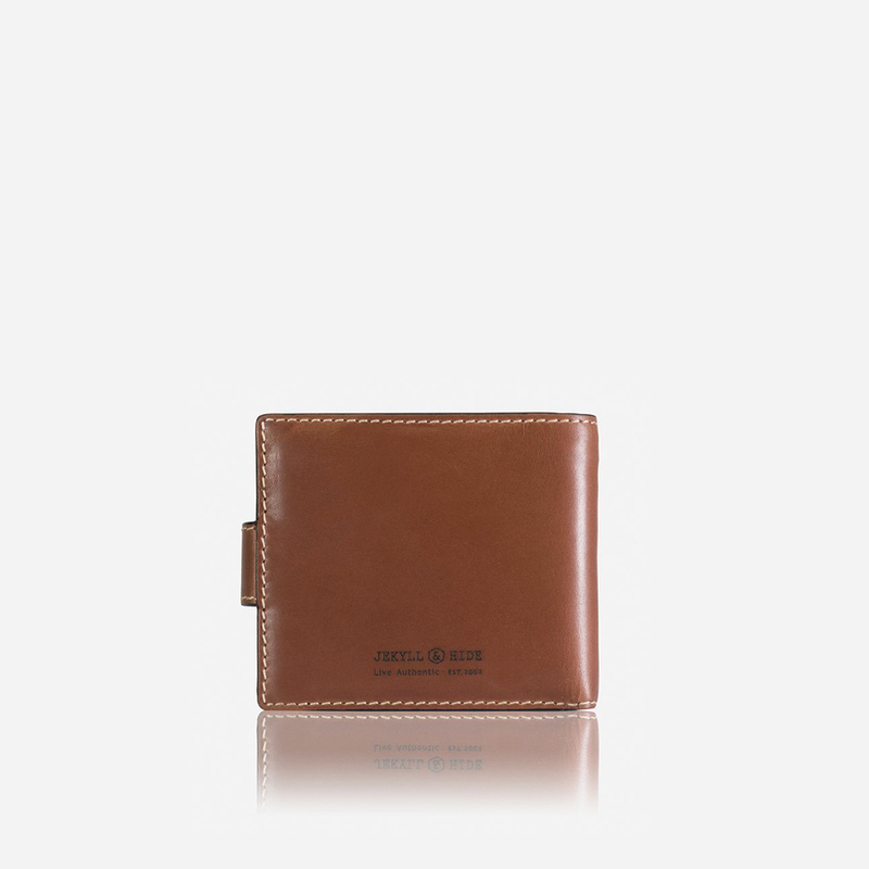 Large Bifold Wallet With Coin , Clay - Jekyll and Hide SA
