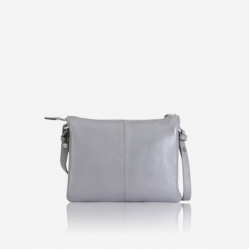 Slim Crossbody Bag, Oyster - Jekyll and Hide SA