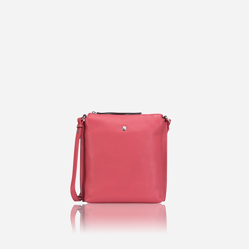 Ladies Essentials Crossbody Bag, Dusty Rose - Jekyll and Hide SA