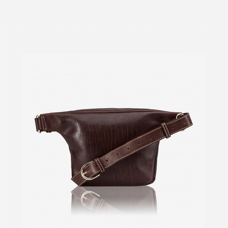 Adjustable Strap Waistbag, Burgundy - Jekyll and Hide SA