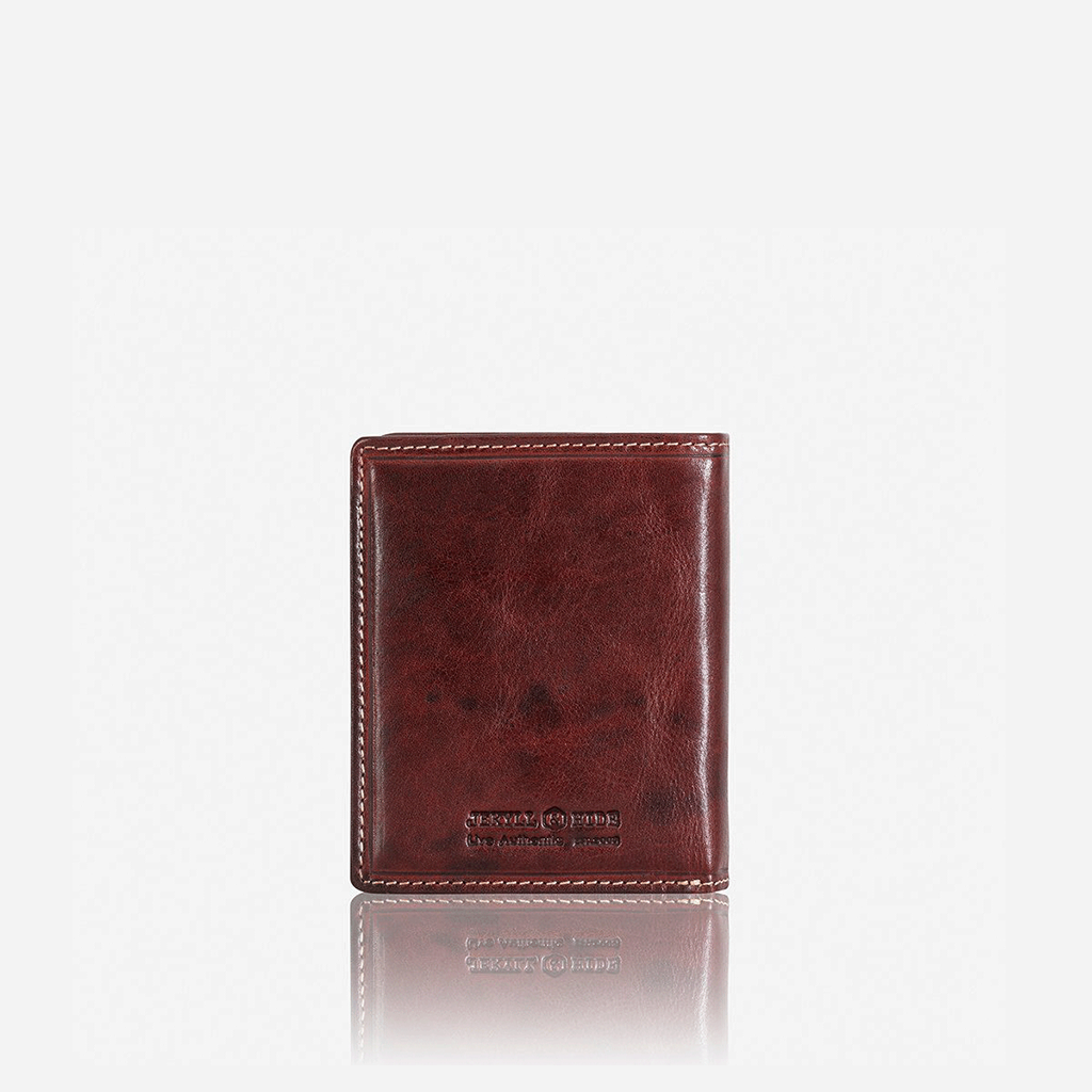 Billfold Wallet With ID Window, Coffee - Jekyll and Hide SA