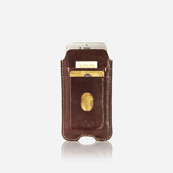 iPhone 6/7 Cell Zulu Leather Pouch - Jekyll and Hide SA
