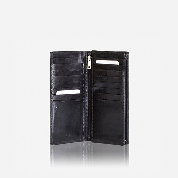 Oxford Wallets - Large Travel And Mobile Wallet, Black