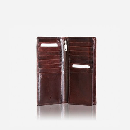 Large Travel And Mobile Wallet, Coffee - Jekyll and Hide SA