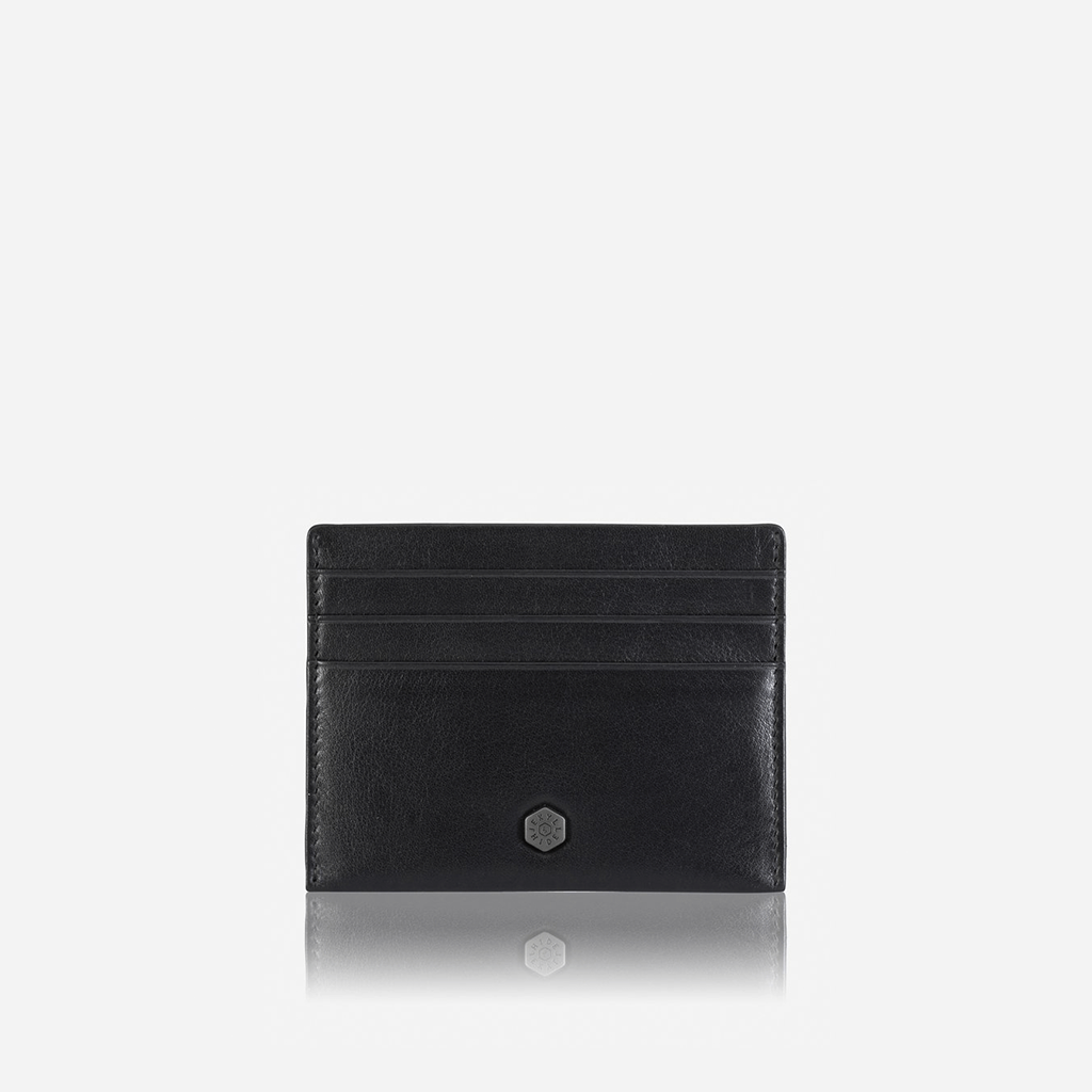 Slim Card Holder, Soft Black - Jekyll and Hide SA