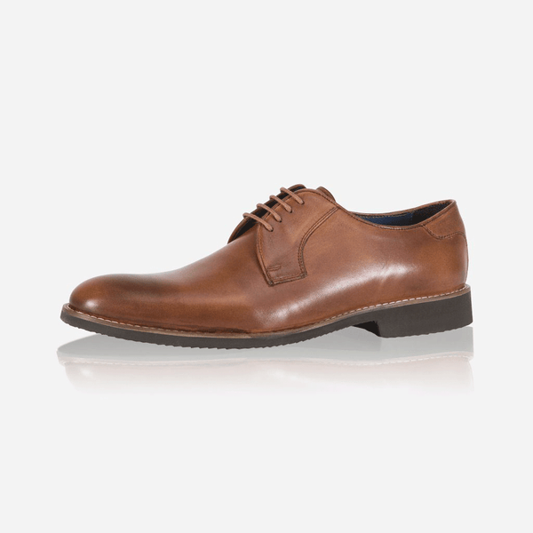 Leather Brogues - Antic Shoes, Tan