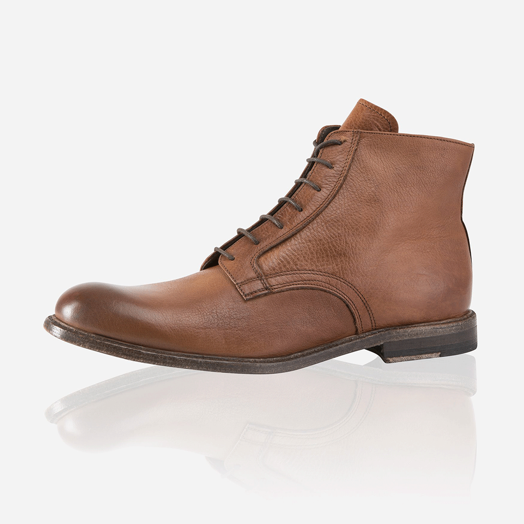 Napoli Leather Boots, Tan - Jekyll and Hide SA