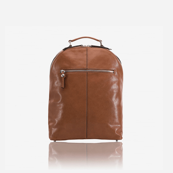 Ladies Laptop Backpack 37cm, Tan - Jekyll and Hide SA