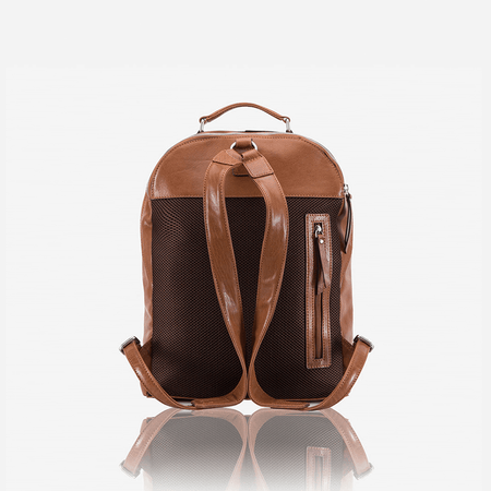 Compact Laptop Backpack 37cm, Tan - Jekyll and Hide SA