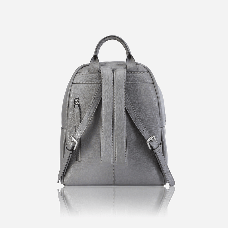 Ladies Leather Everyday Backpack, Oyster - Jekyll and Hide SA
